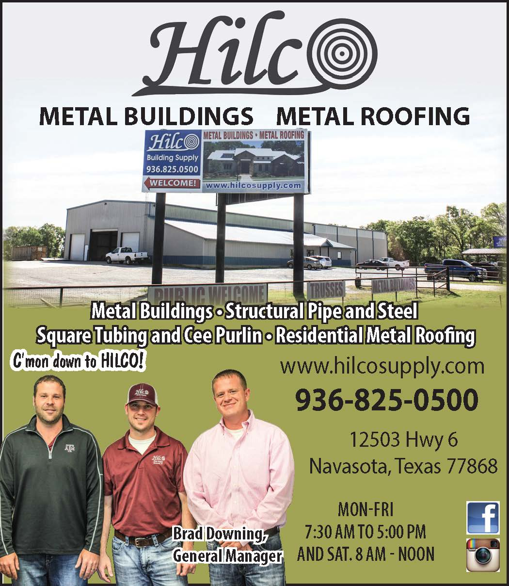 Hilco Navasota Business Guide Flyer