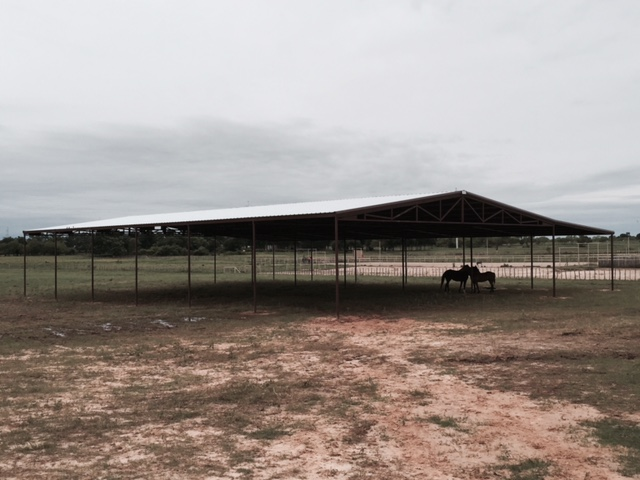Large Covered Pole Arena