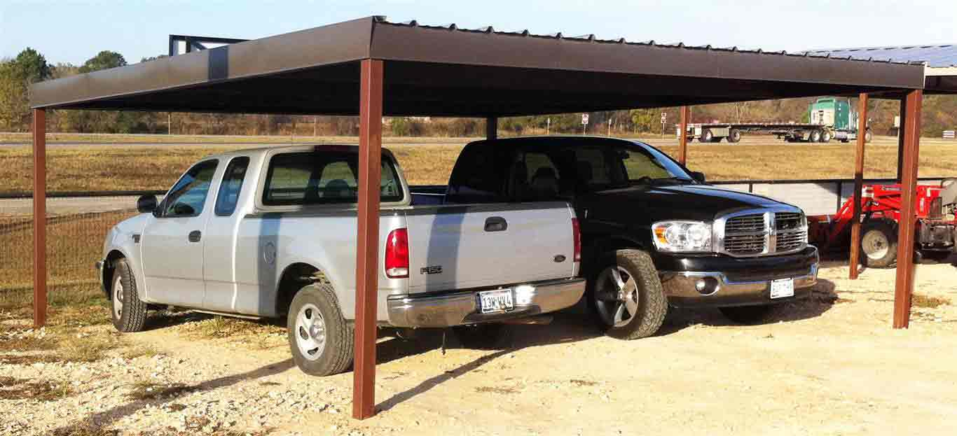 Commercial Carports & Storage