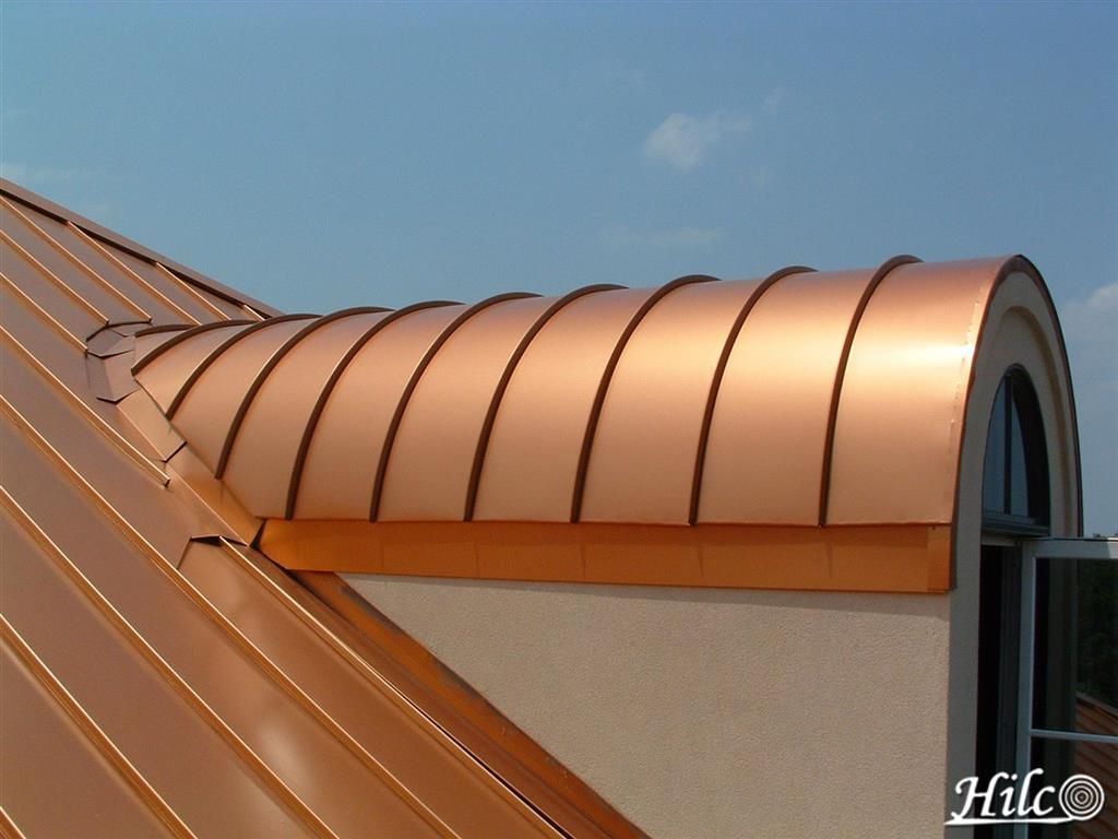 Bronze Metal Roof Panels