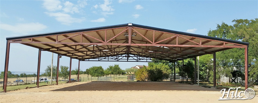 Private Custom Equestrian Arena
