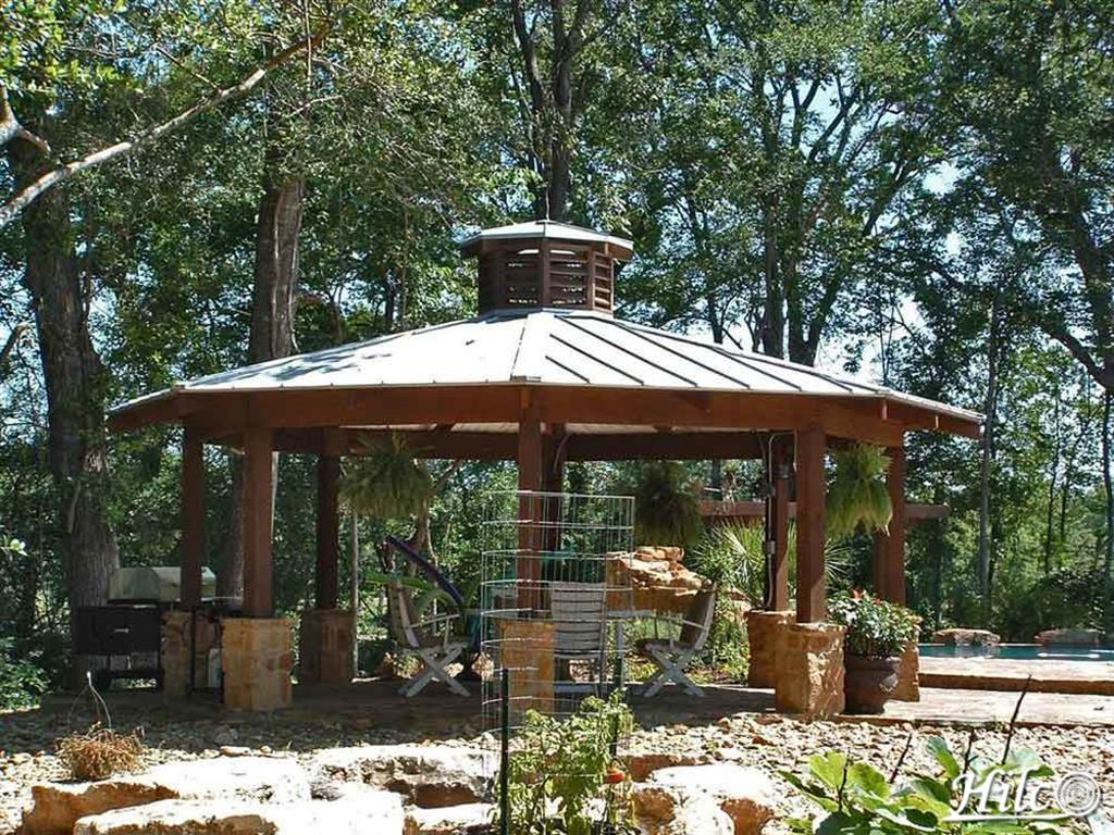 Tin Roof Gazebo