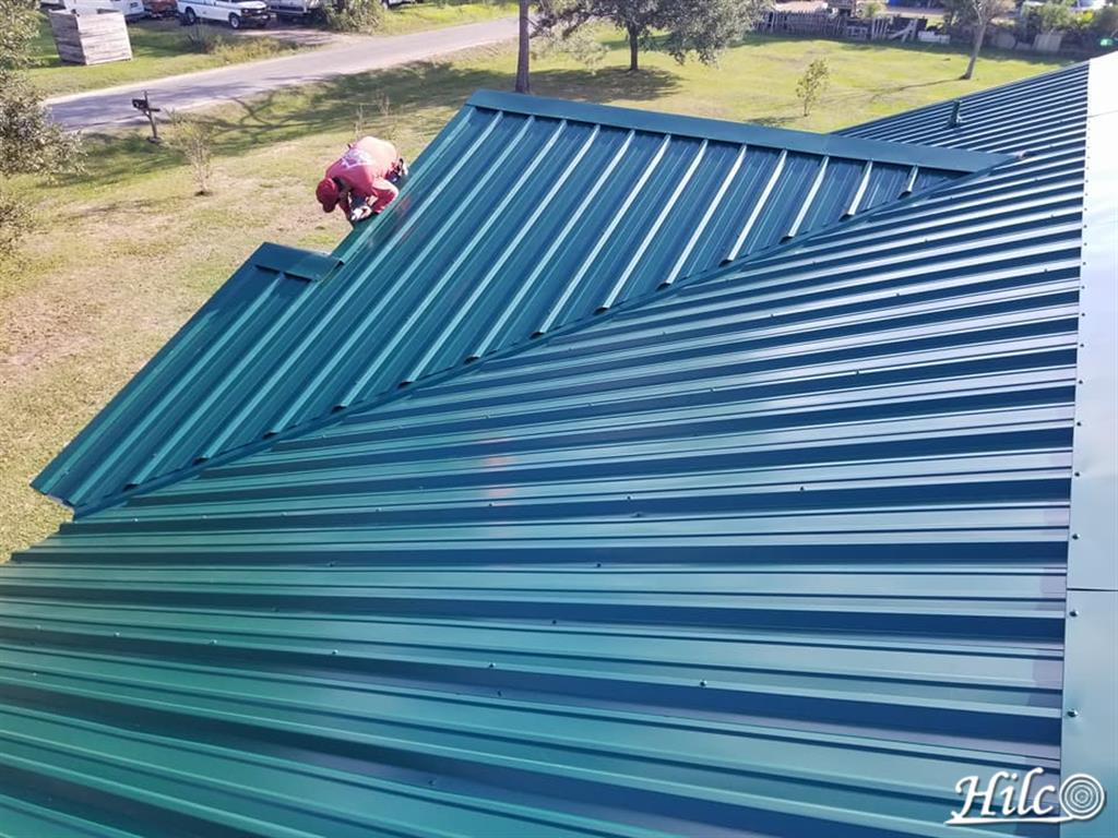Blue Metal Roofing